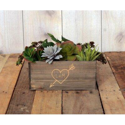 Mccallister Personalized Wood Planter Box