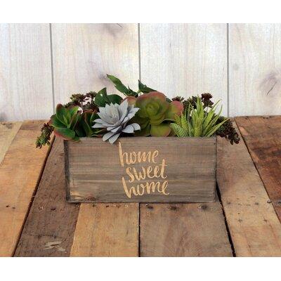 Napier Personalized Wood Planter Box