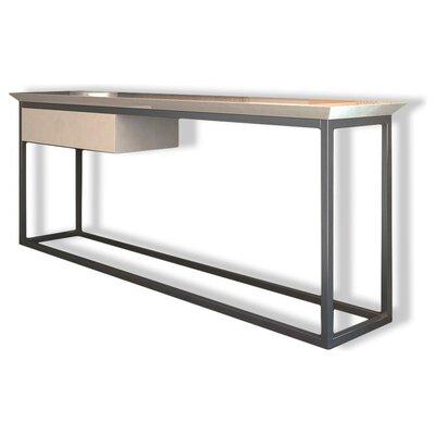 """Jeramiah Console Table Size: 27.8"""" H x 78"""" W x 15.6"""" D, Color: Matte"""