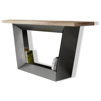 """Jeramiah Console Table Size: 27.8"""" H x 59"""" W x 15.6"""" D, Color: High Gloss"""