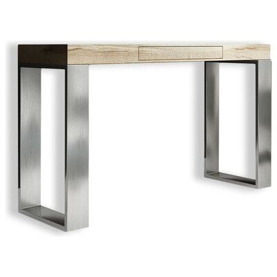 "Clemens Console Table Size: 31.5"" H x 31.5"" W x 15.6"" D, Color: High Gloss"