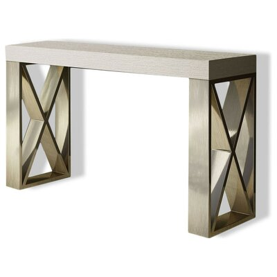 "Clemens Console Table Size: 31.5"" H x 47"" W x 15.6"" D, Color: High Gloss"