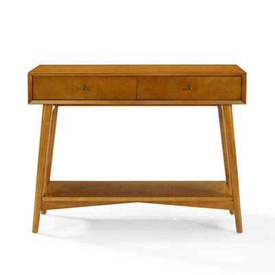 Easmor Console Table Color: Acorn