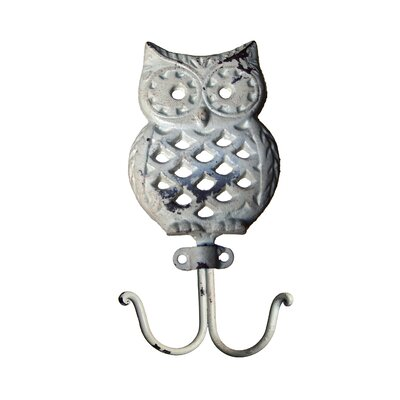 Fray Vintage Owl Wall Hook (Set of 3)