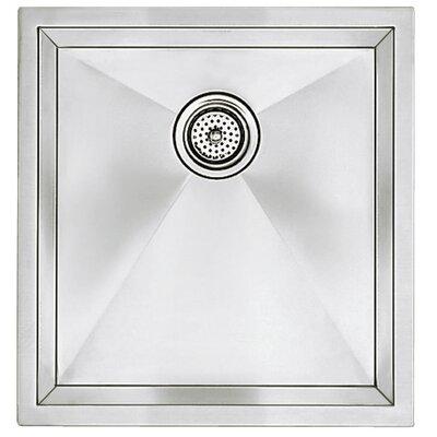 """Precision 19"""" L x 18"""" W Large Single Bowl Kitchen Sink"""