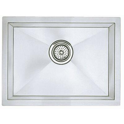 """Precision 22"""" L x 18"""" W Single Bowl Kitchen Sink"""