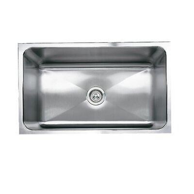 """Magnum 31.25"""" L x 18"""" W Undermount Kitchen Sink"""