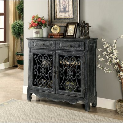 Hayse 2 Drawer Accent Cabinet