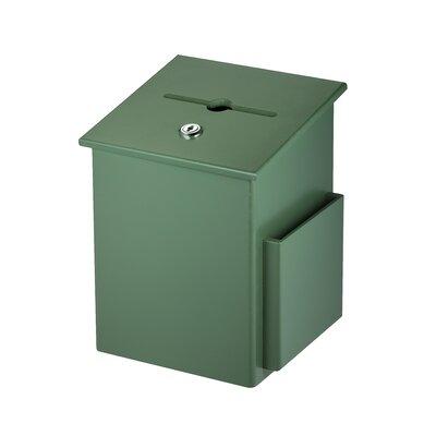 Wood Drop Box Mailbox Color: Green