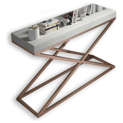 """Laivai Console Table Size: 29.5"""" H x 31.25"""" W x 15.6"""" D"""