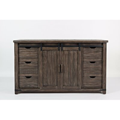 Westhoff 6 Drawer Accent Cabinet Color: Brown