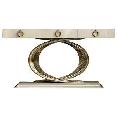 "Laivai Console Table Color: High Gloss, Size: 29.5"" H x 39.4"" W x 15.6"" D"