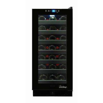 33 Bottle Touch Screen Freestanding Wine Cooler
