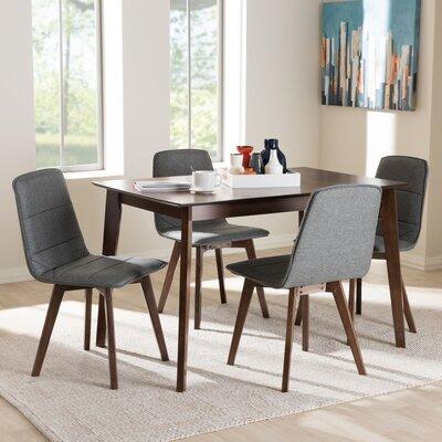 Faning Upholstered 5-Piece Dining Set