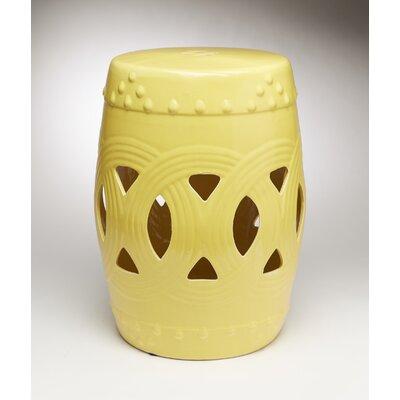 Finnerty Interlocking Garden Stool Color: Yellow