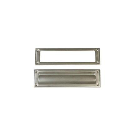 11.5 in x 3 in Steel Mail Slot Color: Satin Nickel