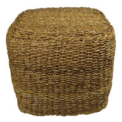 Hohman Square Rattan Accent Stool