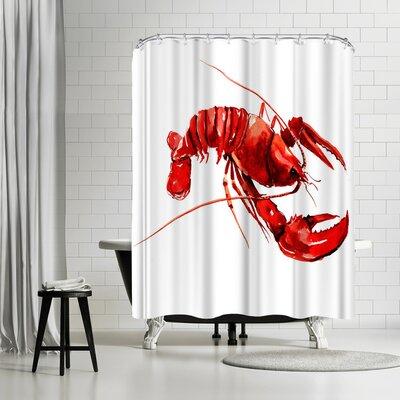Suren Nersisyan Lobster Shower Curtain
