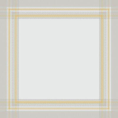 """Galerie Des Glaces Table Cloth Size: 163"""" W x 68"""" L, Color: Vermeil"""