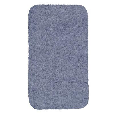 """Castleberry Bath Mat Size: 20"""" W x 34"""" L, Color: Wedgewood Blue"""