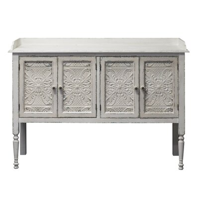 Parikh Vintage 4 Door Accent Cabinet