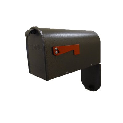 Newport Post Mounted Mailbox Mailbox Color: Bronze