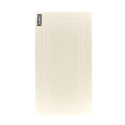 Bath Rug Color: Cream