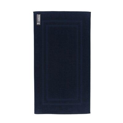 Bath Rug Color: Navy