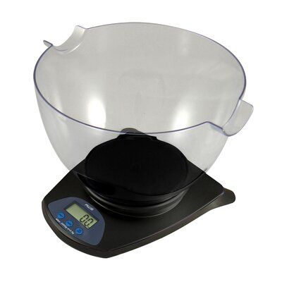 "Digital Bowl Kitchen Scale Size: 8"" H x 12"" W x 12"" D"