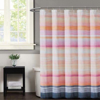 Sunset Stripe Shower Curtain