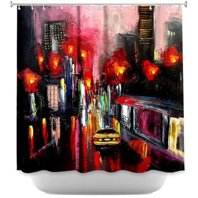 Faces of the City 145 Shower Curtain