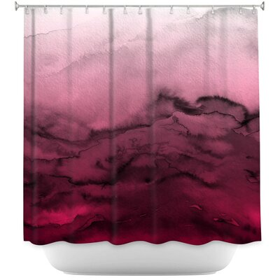 Winter Waves Shower Curtain