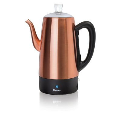 Stainless Steel Electric Percolator Size: 96 oz.