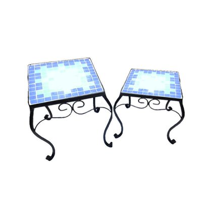 Cantero 2 Piece Plant Stand Set (Set of 2)