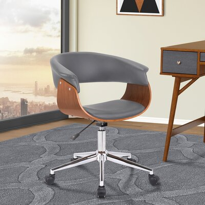 Casler Office Chair Color: Gray
