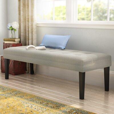 Steinbach Upholstered Bench Upholstery: Linen