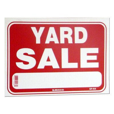 NeoPlex Yard Sale Sign NOPL5650