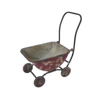 Hanke Metal Wagon Planter