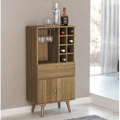 Charney Bar with Wine Storage