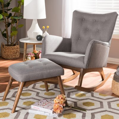 Centreville Rocking Chair with Ottoman