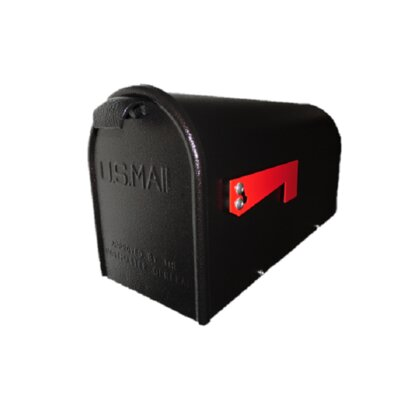Newport Copper Vein Post Mounted Mailbox