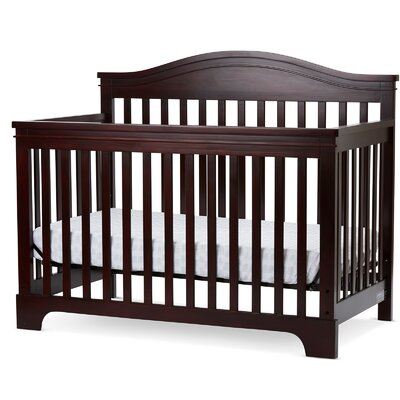 Knoxville 4-in-1 Convertible Crib Color: Cherry
