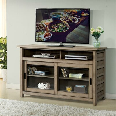 """Wootton TV Stand Color: Sun-Drenched Acacia, Width of TV Stand: 54"""""""