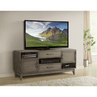 """Workman 66"""" TV Stand Color: Gray Wash"""