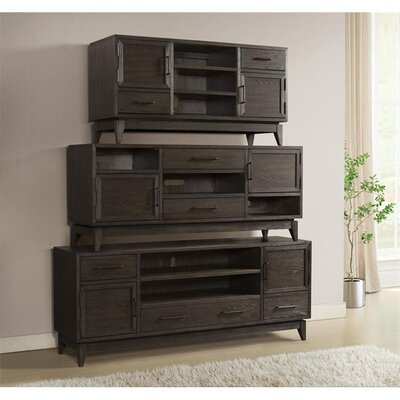 """Workman 74"""" TV Stand Color: Umber"""