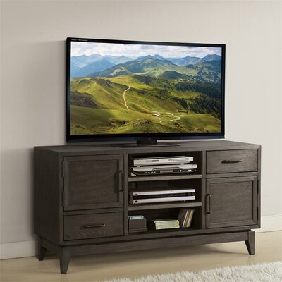 """Workman 54"""" TV Stand Color: Umber"""