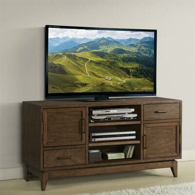 """Workman 54"""" TV Stand Color: Plymouth Brown Oak"""