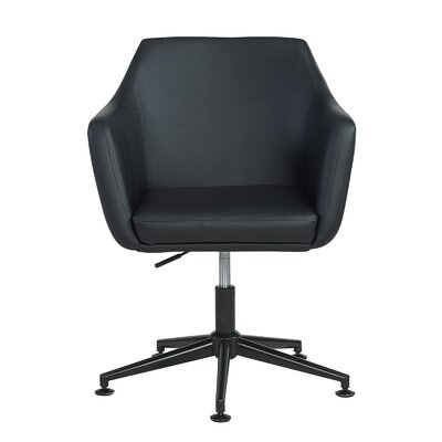 Figueiredo Office Chair Color (Upholstery): Black