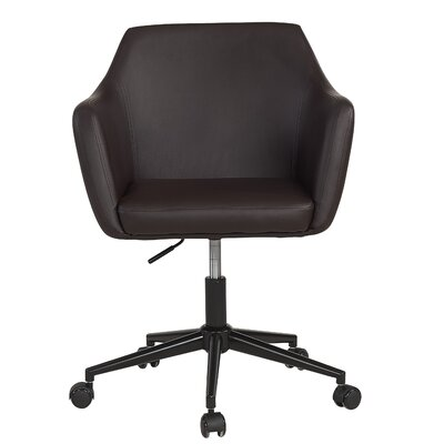 Figueiredo Office Chair Color (Upholstery): Brown