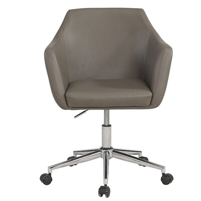 Figueiredo Office Chair Color (Upholstery): Gray